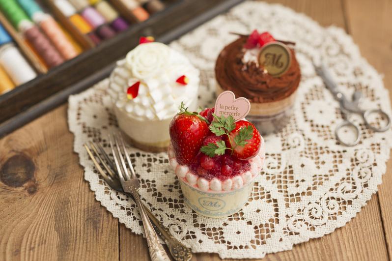 千代田区・有楽町:キュートな店内で楽しむ乙女のカップケーキ「la petite mercerie」ルミネ有楽町店