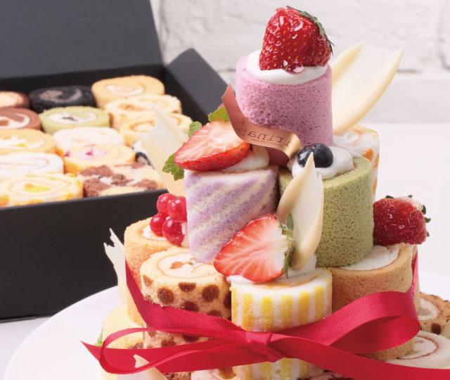 中央区・銀座:目でも楽しめるロールケーキ「irina」プランタン銀座店