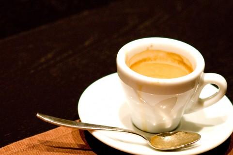 コーヒーはエスプレッソが一般的です