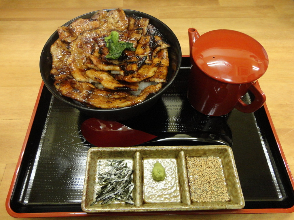 豚丼+お茶漬けセット