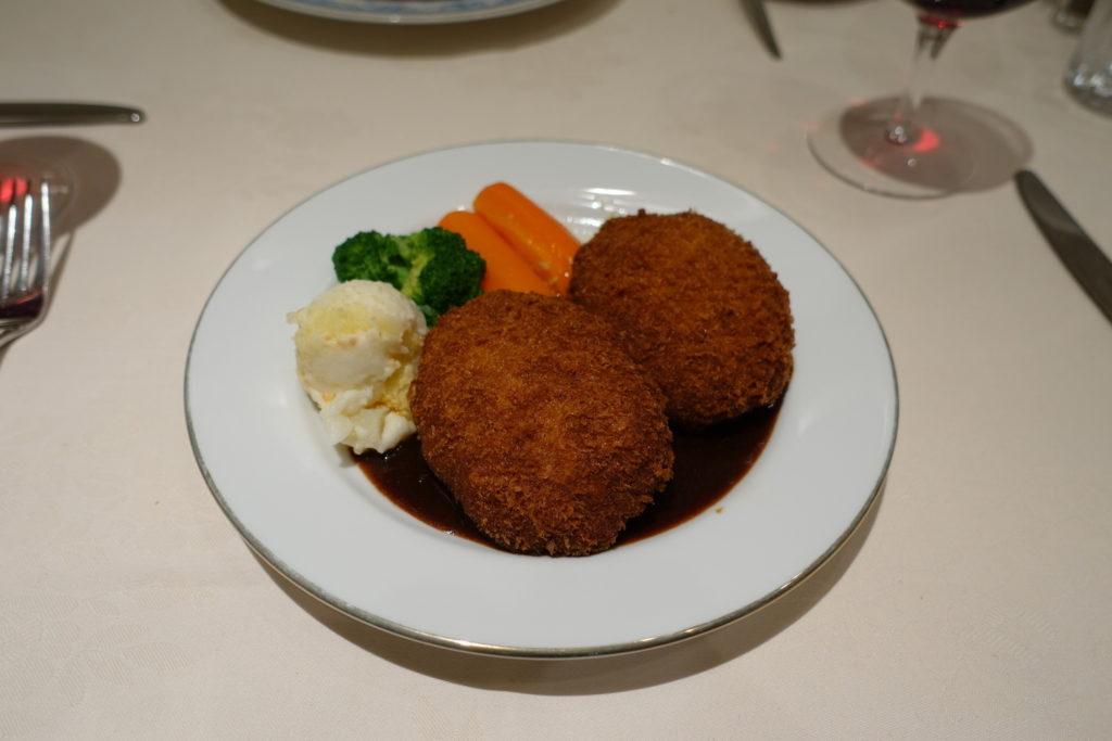 台東区・入谷:メンチカツ「レストラン香味屋」