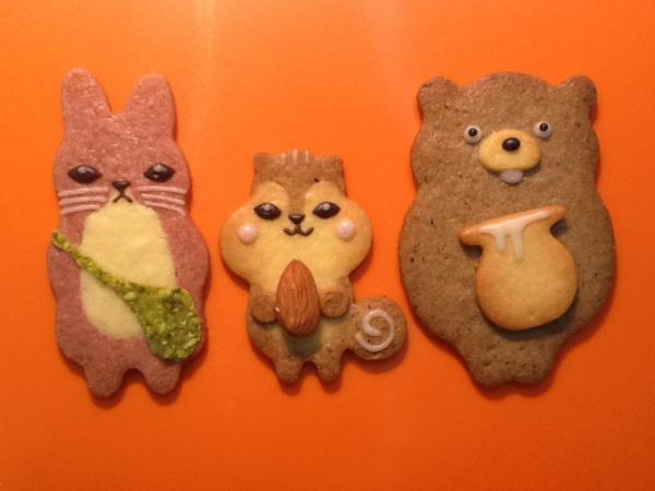 品川区・戸越:チャーミングな森の動物たちのクッキー「henteco 森の洋菓子店」