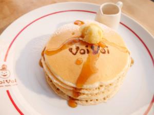 世田谷区・三軒茶屋:厳選素材を使った評判のパンケーキ「パンケーキ ママカフェ Voi Voi」