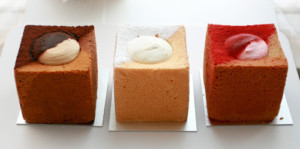中央区・銀座:LAスタイルのキューブ型シフォンケーキ「SOLA」銀座三越店