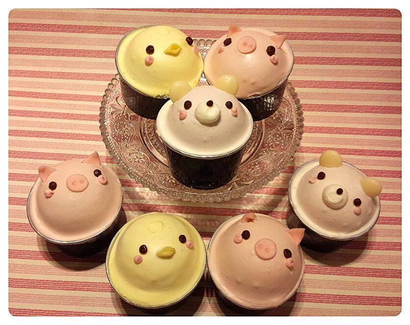 新宿区・新宿区:かわいい動物のカップケーキが勢ぞろい「L'OLIOLI 365」伊勢丹新宿店