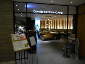 中央区・銀座:「DAVID MYERS CAFE」