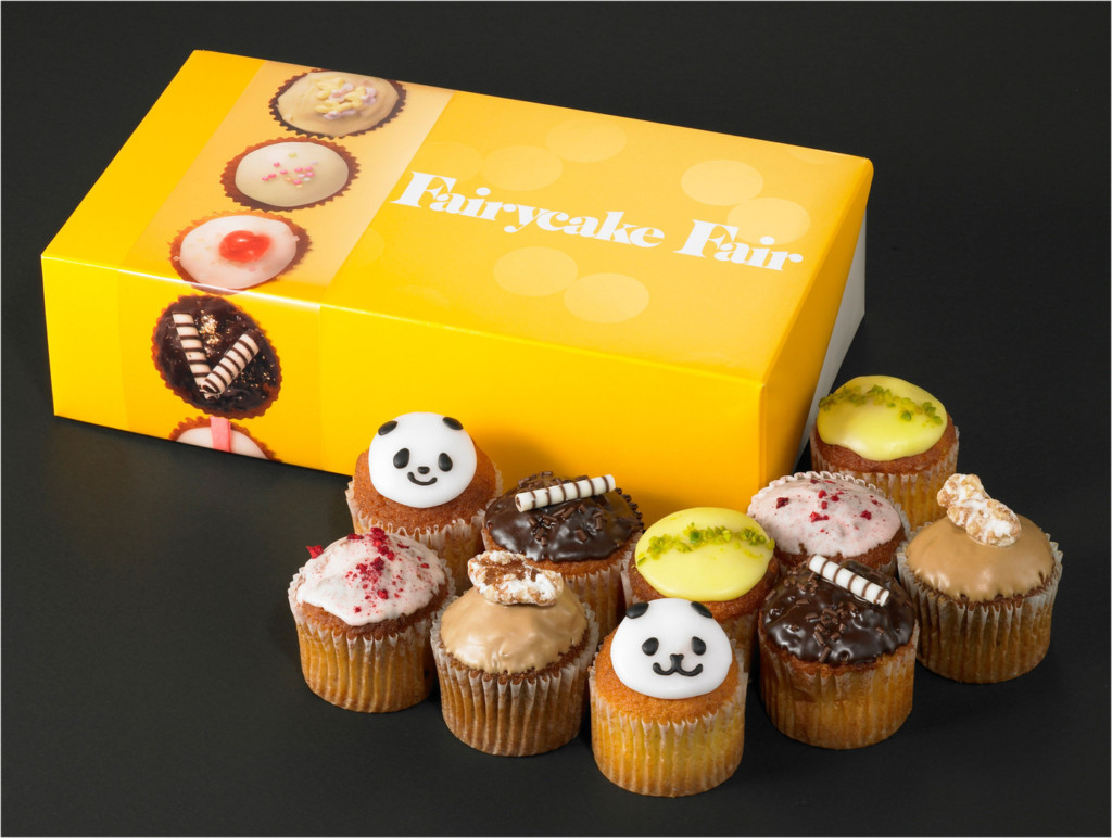 千代田区・丸ノ内:英国の伝統菓子カップケーキをミルクティと一緒に「Fairycake Fair」グランスタ店