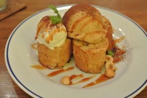 中央区・銀座:銀座で食べる大人のフレンチトースト「CAFE FREDY」銀座店