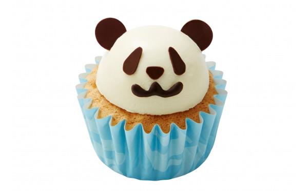台東区・上野:いま最も旬なパンダのカップケーキ「モロゾフ アトレ上野店」