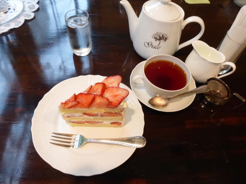 杉並区・西荻窪:華麗なるショートケーキ「Tea&Cake Grace」