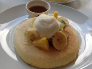 渋谷区・代官山:ニューヨークスタイルのパンケーキ「MATSUNOSUKE N.Y.」代官山店